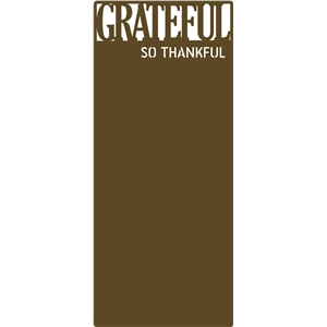 grateful letter-size card