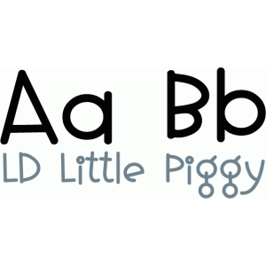 ld little piggy