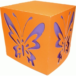 butterfly cut box