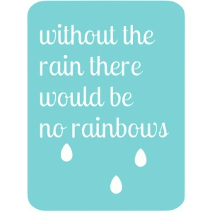 without the rain 3x4 life card