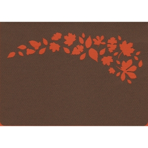 leaf spray card