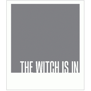 the witch is in polaroid frame