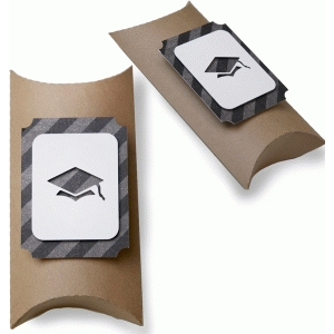 happy graduation pillow box