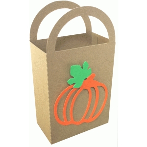 pumpkin gift bag