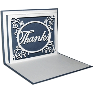 pop-up thank you card