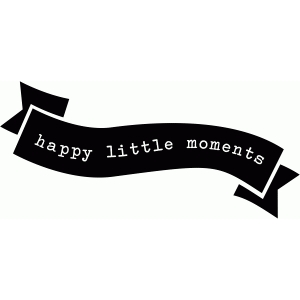 happy little moments banner