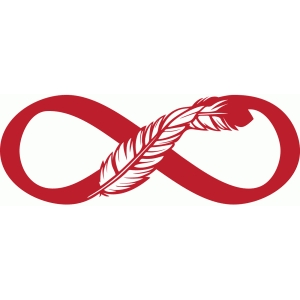 infinity feather