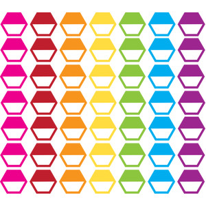 planner hexagon tabs