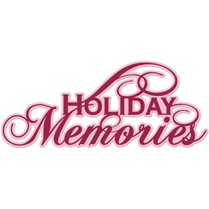'holiday memories' word phrase