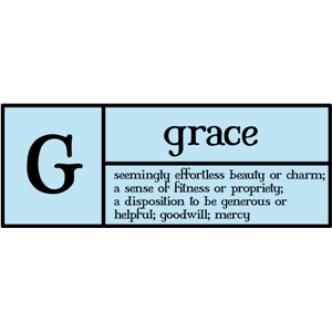 g is for grace