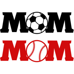 mom soccer and baseball