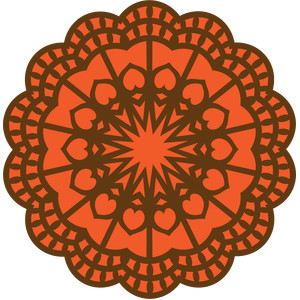 tribal doily