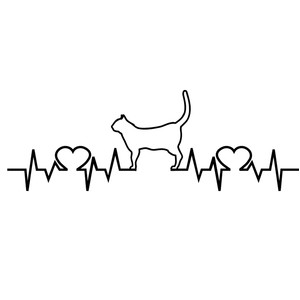 love cats heartbeat