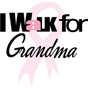 walk for grandma phrase