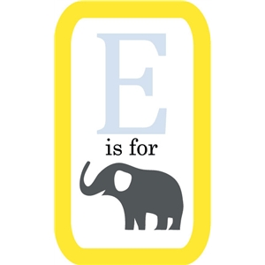 echo park e is for elephant