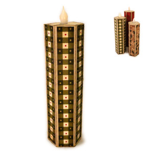 candle narrow 3d led flame 6 inch