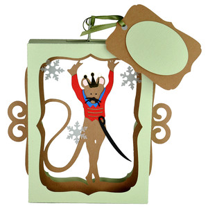 nutcracker mouse king ornament decoration