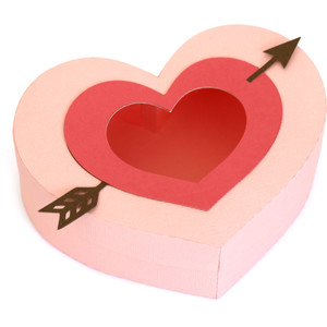 arrow heart box