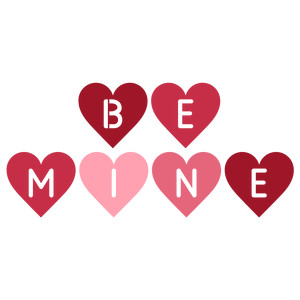 be mine hearts