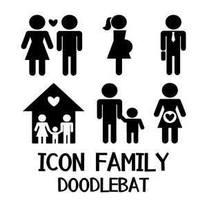 icon family doodlebat