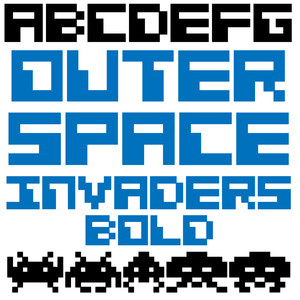 ld out space invaders bold