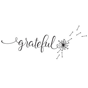 grateful dandelion word