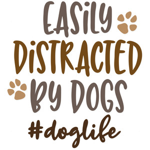 easily distracted by dogs #doglife