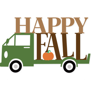 happy fall truck