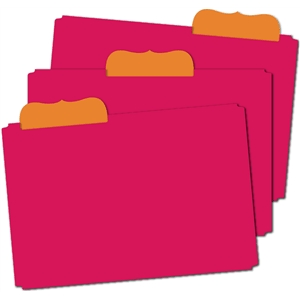 3 bracket tab file folders