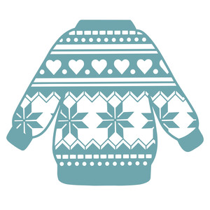 pattern christmas jumper