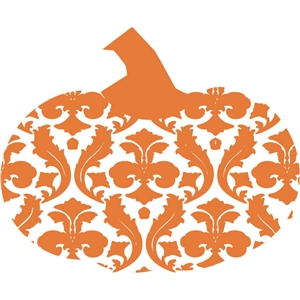 echo park damask pumpkin