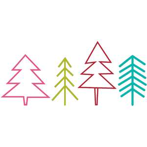 simple evergreen trees