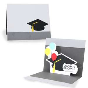 pop up card - congrats graduate