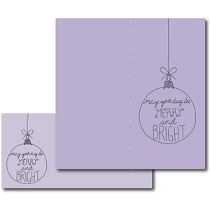 #7 merry and bright card