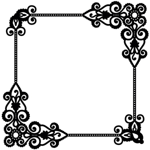 extended ornate frame