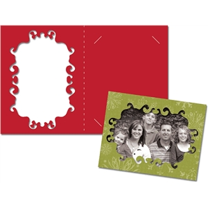 card: ornate picture frame