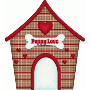dog house puppy love