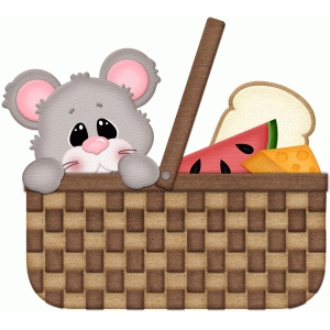 mouse in picnic basket pnc