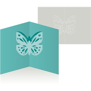 card pop up butterfly