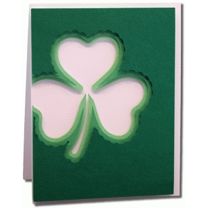 a2 layered clover card