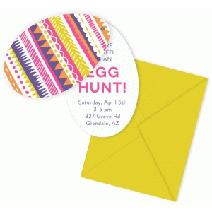 printable hinged egg invite