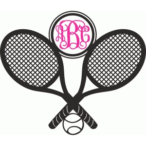 tennis monogram logo