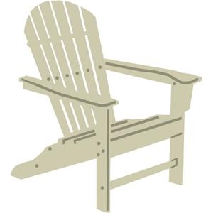 Silhouette Design Store - View Design #12566: adirondack chair
