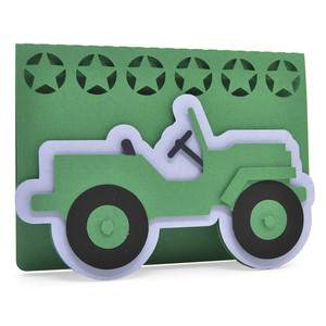 army car card