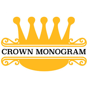 crown split monogram frame