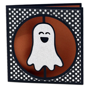 ghost circle window card