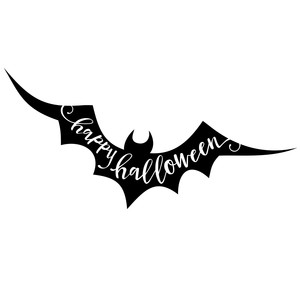 happy halloween - bat phrase