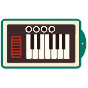 musical tag keyboard