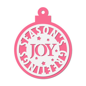 christmas decor/ tag - joy