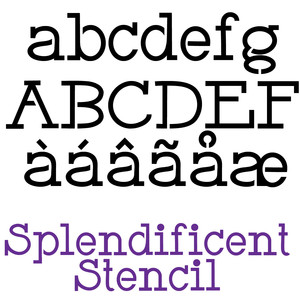 pn splendificient stencil